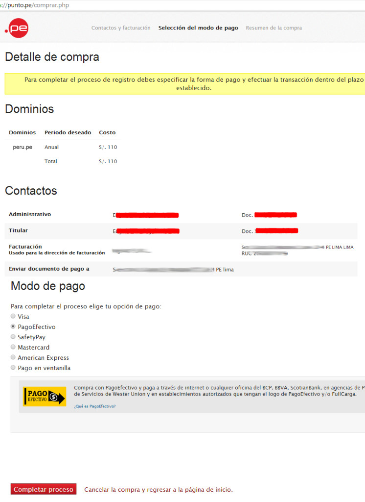 como comprar dominios en peru dominios peruanos