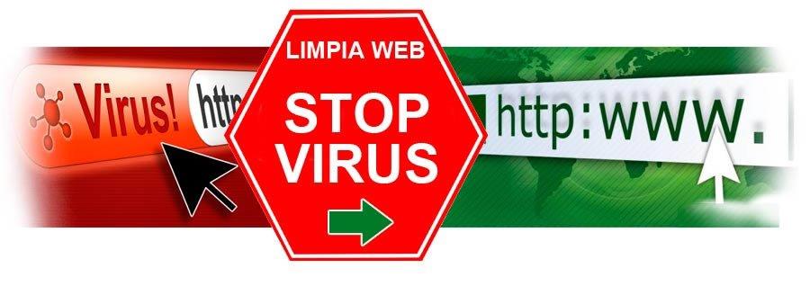 servicio limpiar codigo malicioso html php web hosting malware precio quitar