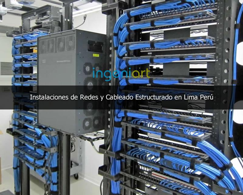 empresa proveedora de cableado estructurado en Lima