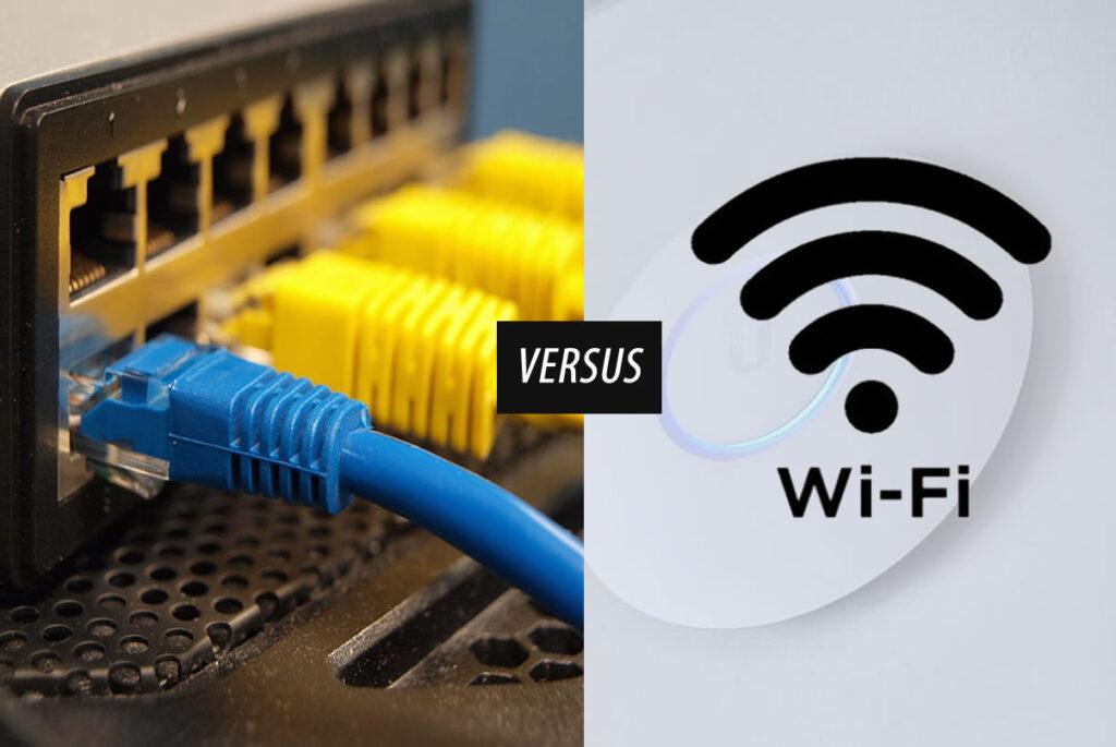cableado versus wifi